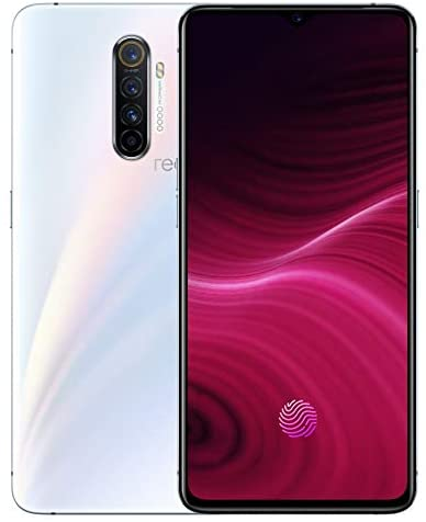 Original Oppo realme X2 Pro X 2 Pro 8G 128GB Snapdragon 855Plus Global ROM 64MP Quad Camera 6.5AMOLED NFC 90Hz Display NFC 50W VOOC NFC Support Google-by (CTM Global Store) (White 8+128)