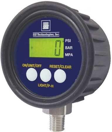 Digital Pressure Gauge, 1000 PSI MG1-9V