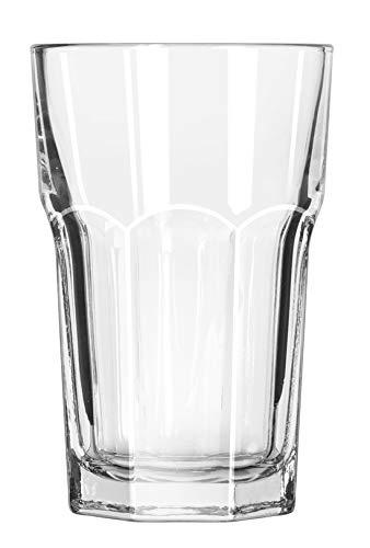 Libbey Glassware 15237 Gibraltar Beverage Glass, Duratuff, 10 oz. (Pack of 36)