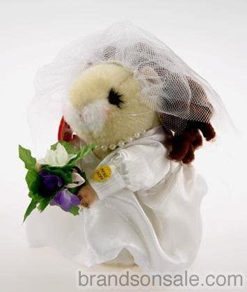 Hamsterette Bride Dancing Hamster by Gemmy