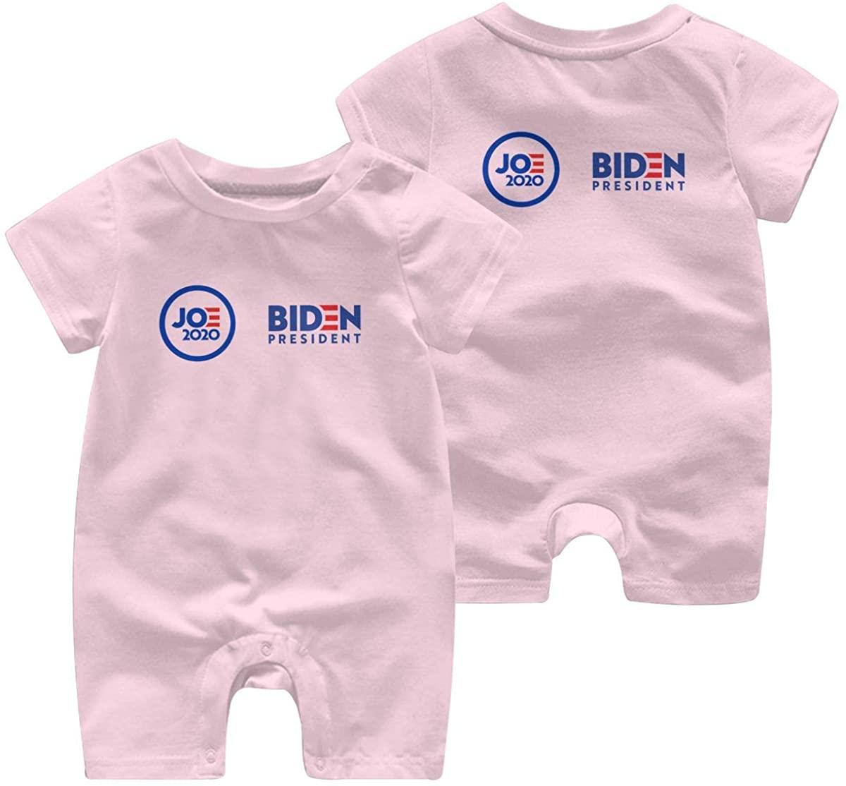 Joe Biden for President 2020 Leisure Baby Short Sleeve Jumpsuit Kid Baby Pajama Sleeper Romper Romper Jumpsuit