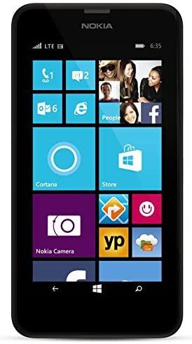 Nokia Lumia 635 Unlocked GSM Windows 8.1 Quad-Core Phone - Black