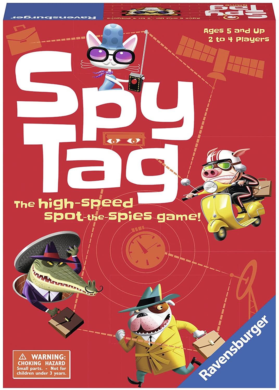 Spy Tag - Children's Game