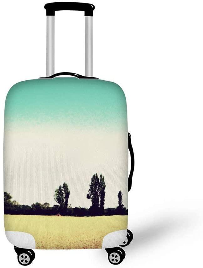 Country Fashionable Baggage Suitcase Protector Travel Luggage Cover Anti-Scratch
