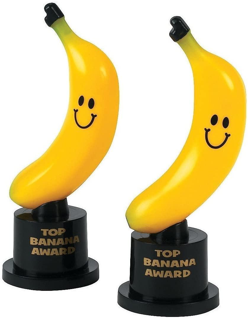 Fun Express Top Banana Award Trophies (1 Dozen)