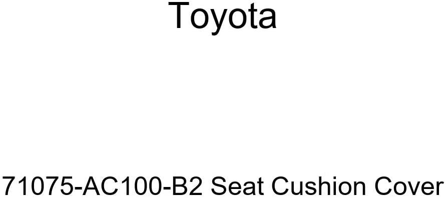 TOYOTA Genuine 71075-AC100-B2 Seat Cushion Cover