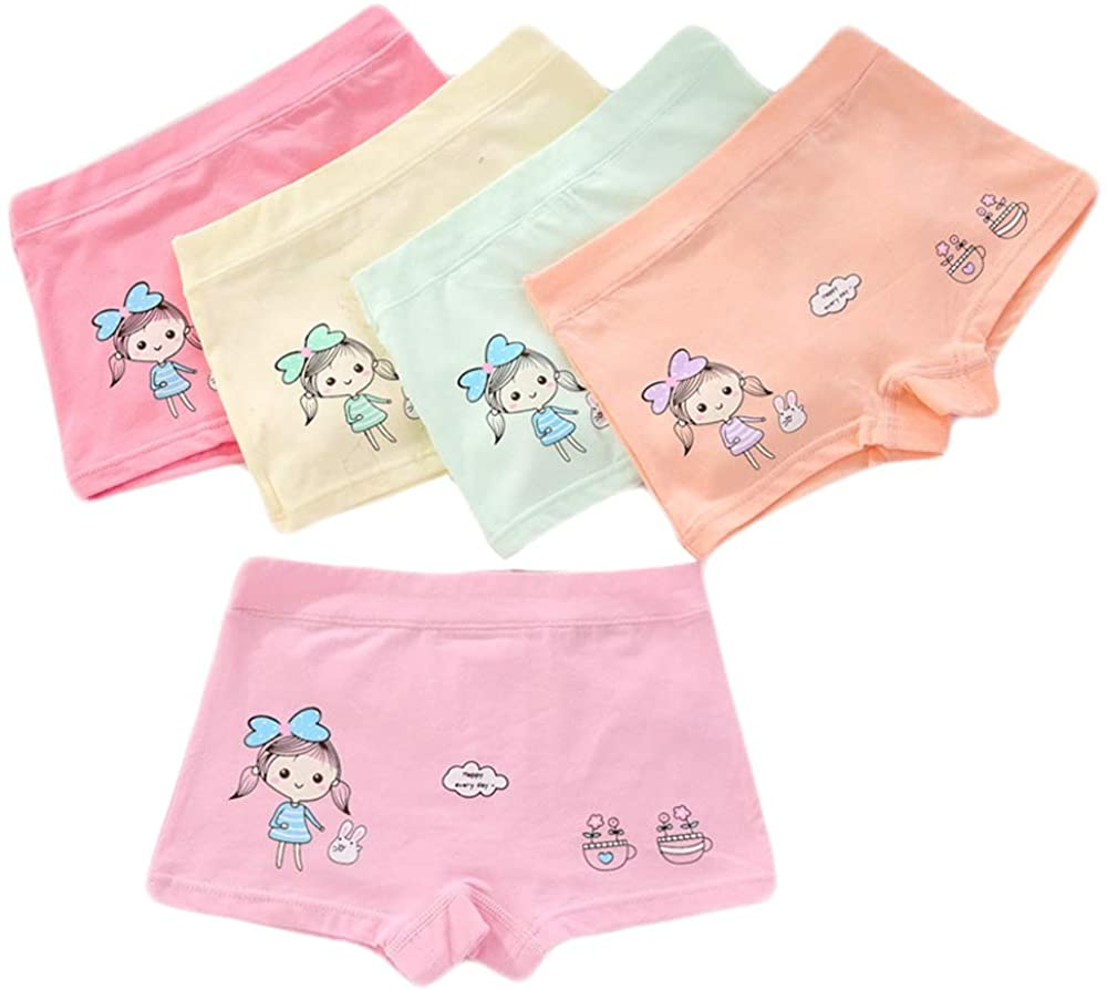Qiribati Girls Kids Underwear Panty Bundle Knickers Multipack Briefs Pack of 5