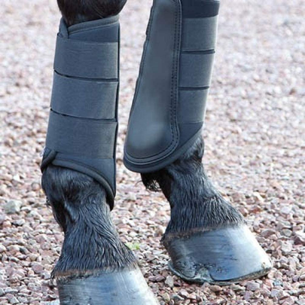 Shires Equestrian Horse Equine Arma Neoprene Small Pony Grey Brushing Boots