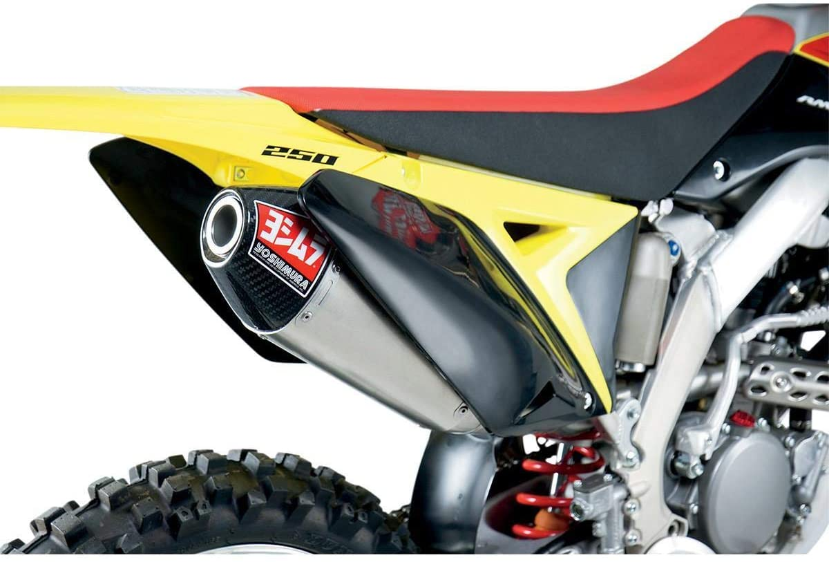 YOSHIMURA RS12 SIGNATURE SERIES EXHAUST SYSTEM SS-AL-CF - 218320S320