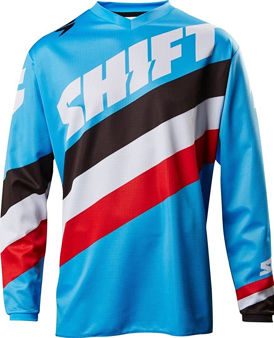 Shift 2017 White Label Tarmac Jersey-Blue-S
