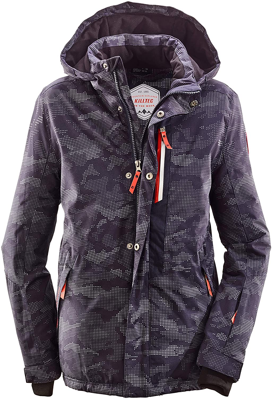 killtec Zev Insulated Ski Jacket Boys Dark Navy