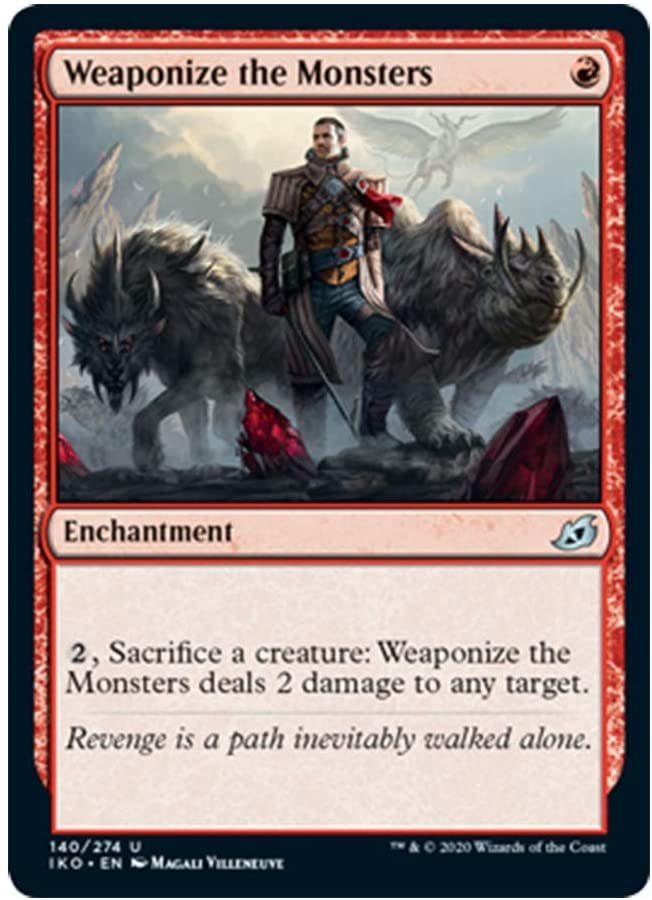 x4 Weaponize The Monsters 140/274 Uncommon Ikoria Lair of Behemoths