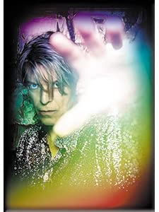 Bowie David Rainbow, Officially Licensed Original Artwork, Premium Quality MAGNET - 2.5