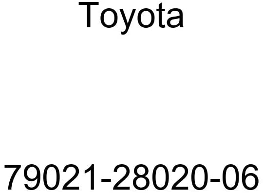 TOYOTA Genuine 79021-28020-06 Seat Cushion Cover Assembly