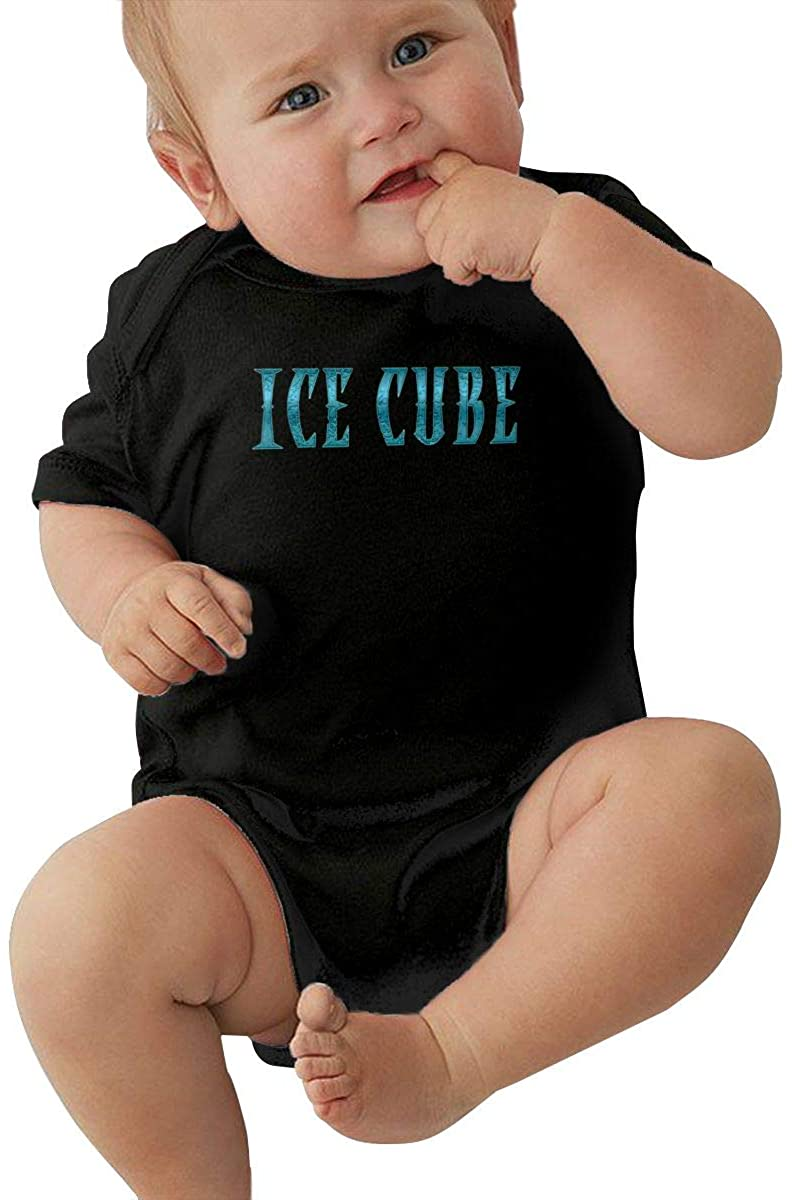Ice Cuba lovelyBaby boy and Girl Short Sleeve Jumpsuit Newborn Triangle Romper