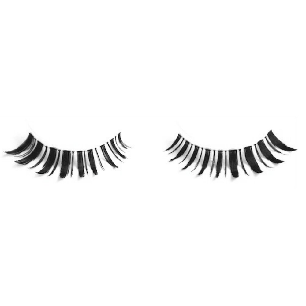 Milanté BEAUTY Frisky False Lashes Vegan Black Natural Thick Long Full Reusable Fake Strip Eyelashes
