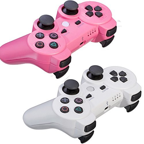 Genenric wireless controllers for the PlayStation 3 provide the most intuitive game play experience with pressure sensors In Each Action Button of the Highly Sensitive Motion Sensor Technology.