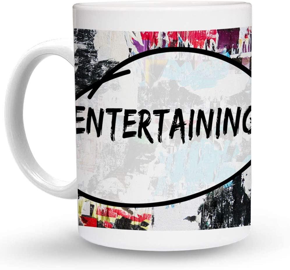 Makoroni - ENTERTAINING Hobby 6 oz Ceramic Espresso Shot Mug/Cup Design#19