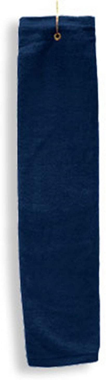 Anvil Tri Fold Center Grommet Hemmed Hand Towel