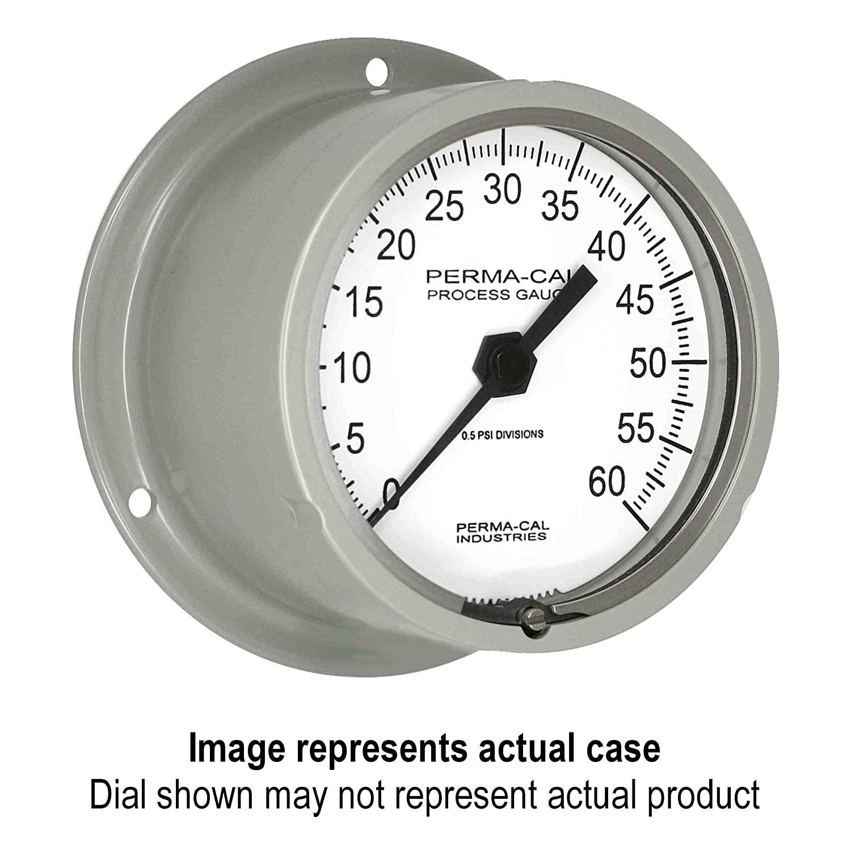 Pressure Gauge, Military Grade, Gearless, Process, 0-10000 psi, 3.5