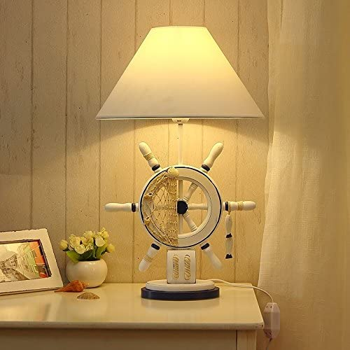 Lamp creative stylish and simple continental personality child bedrooms bedside little lamps, the rudder, Dimmer Switch