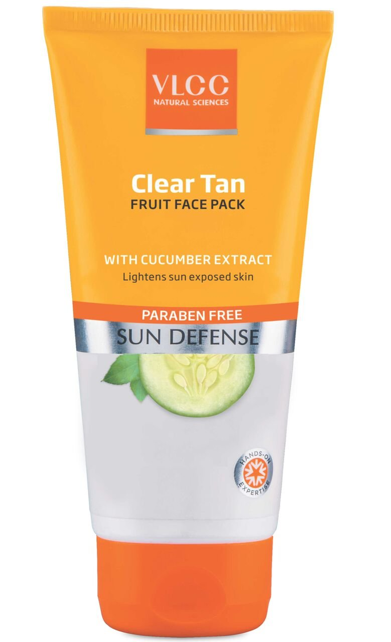 VLCC Clear Tan Fruit Face Pack, 100G