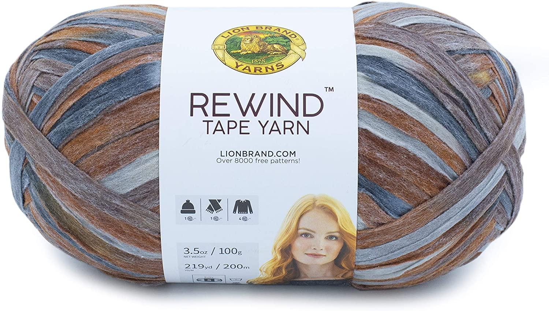 Lion Brand Yarn Rewind yarn, FROSTED ALMOND