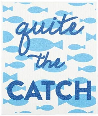 SB Designstudio Baby Washcloth - Quite The Catch (Pack of 1)