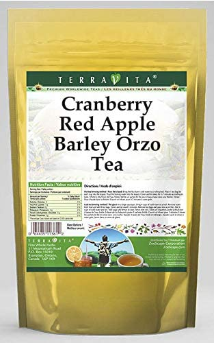 Cranberry Red Apple Barley Orzo Tea (25 Tea Bags, ZIN: 566406) - 3 Pack