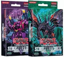Yugioh Dragon's Roar & Zombie Madness American Structure Deck Set