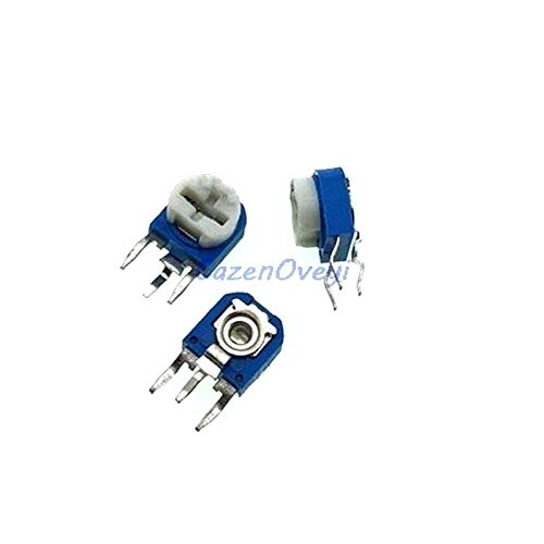 20pcs/lot RM063 100k ohm Blue and White can be Adjusted Resistance Potentiometer 104