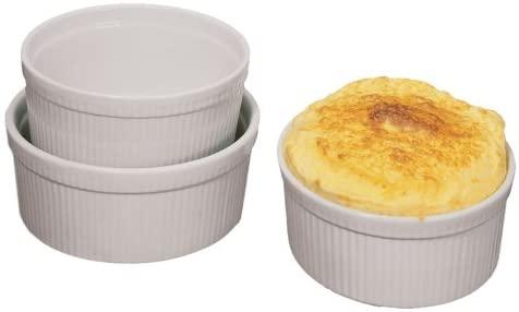 Fox Run 1-Quart Souffle Dish, White