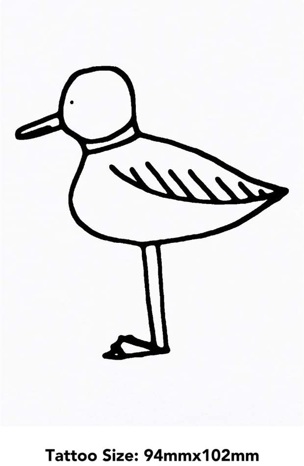 Azeeda Large Seagull Temporary Tattoo (TO00017902)