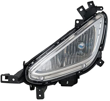 Rareelectrical NEW LEFT FOG LIGHT COMPATIBLE WITH HYUNDAI ELANTRA COUPE GL GLS GS SE 2013-2014 92201-3X520 922013X520 HY2592143