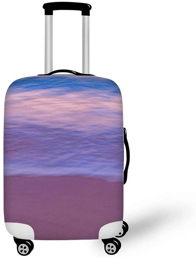 Beach Fashionable Baggage Suitcase Protector Travel Luggage Cover Anti-Scratch