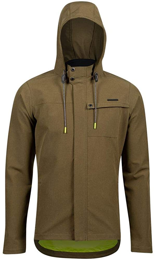 PEARL IZUMI Men's Rove Barrier Jacket, Dark Olive, M