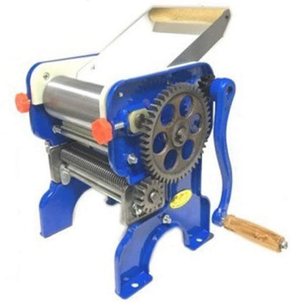 CHENJIU Pasta Machine, Dough Roller Noodle Cutting Machine Adjustable with 2 Cut Press Blade Settings Perfect for Professional Homemade Spaghetti and Fettuccini