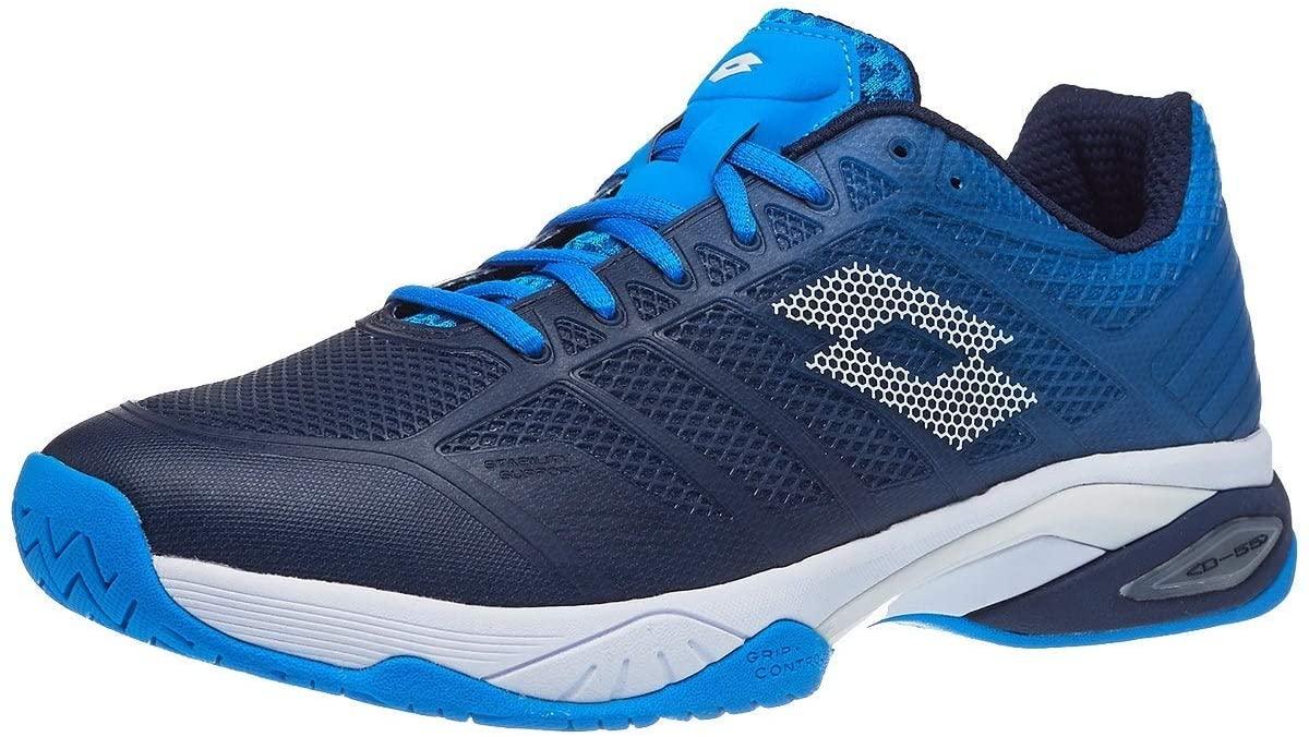 Lotto Mirage 300 II Speed Mens Tennis Shoe - Navy/White/Blue - Size 12