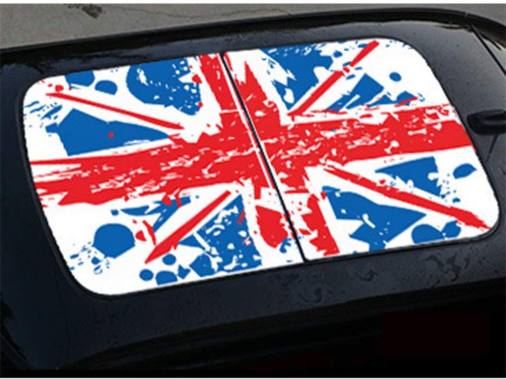 PSLER Mini Cooper Roof Sunroof Stickers for Mini Cooper F56 (Type 4)