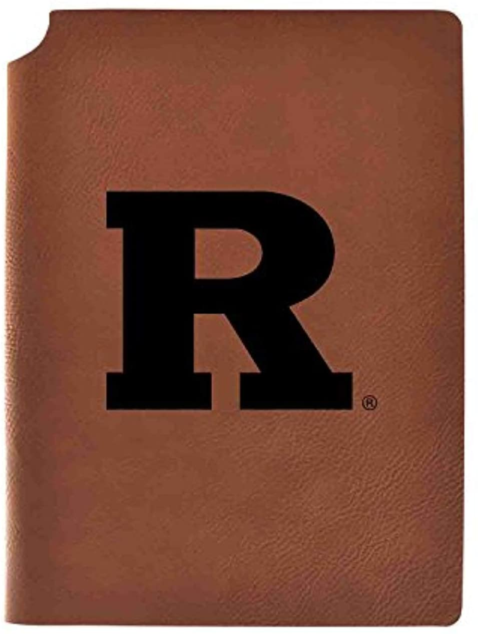 Rutgers University Velour Journal with Pen Holder|Carbon Etched|Officially Licensed Collegiate Journal|