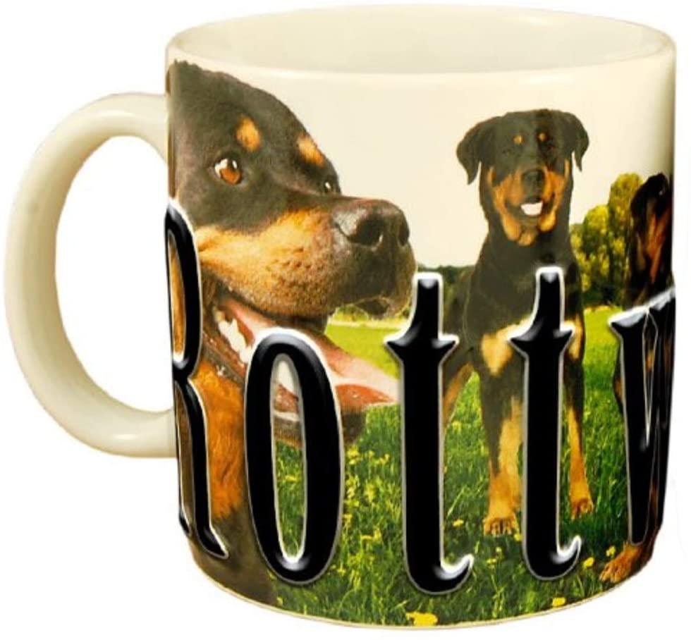 Americaware PMROT01 Rottweiler Stoneware Mug