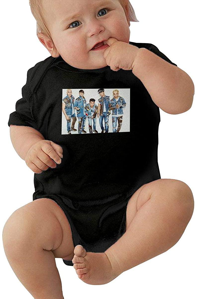 MaMing CNCO Unisex Baby Leotard Cute Short Sleeve T-Shirt