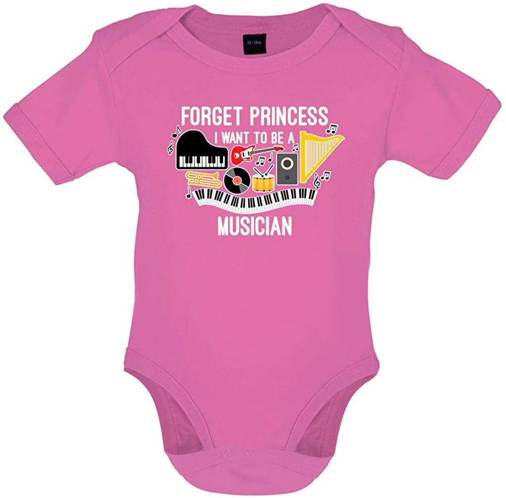 Dressdown Forget Princess Musician - Organic Babygrow/Body Suit