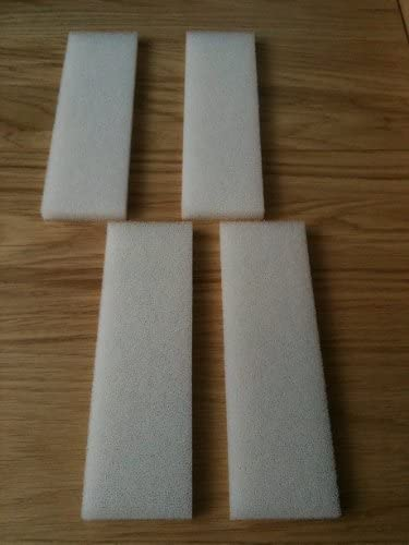 Finest-Filters 4 x Compatible Foam Filter Pads to fit Fluval U4 Range of Internal Filters