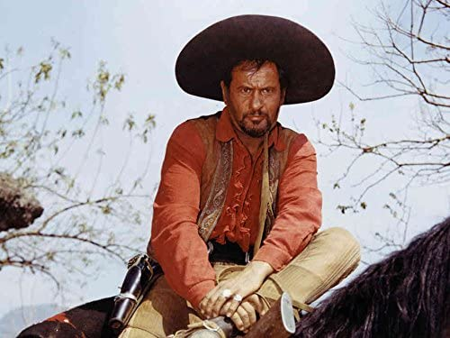 An 8 x 10 Photo Framed Eli-Wallach As Tuco In Good Bad And The Ugly