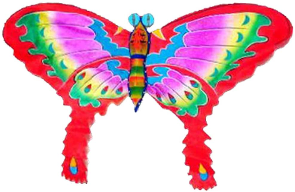 Red Silk Butterfly Kite