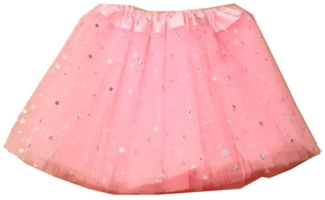 Rimi Hanger Toddler Girls Ballet Tutu Skirt Kids Birthday Princess Party Fancy Dress Skirt One Size