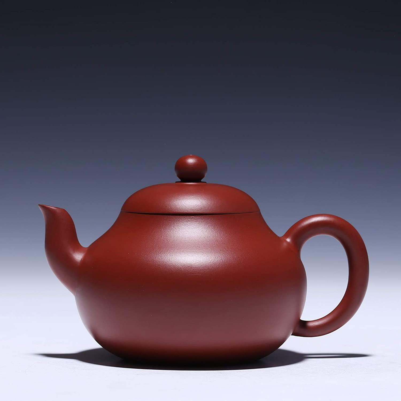 XinQuan Wang Pear-shaped hand-masters teapot teapot teapot kung fu tea (Color : Purple mud)