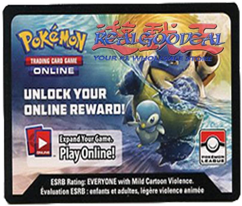x1 Pokemon League Sun & Moon Cosmic Eclipse Season 2 Online Reward Card Code (Sent via email)