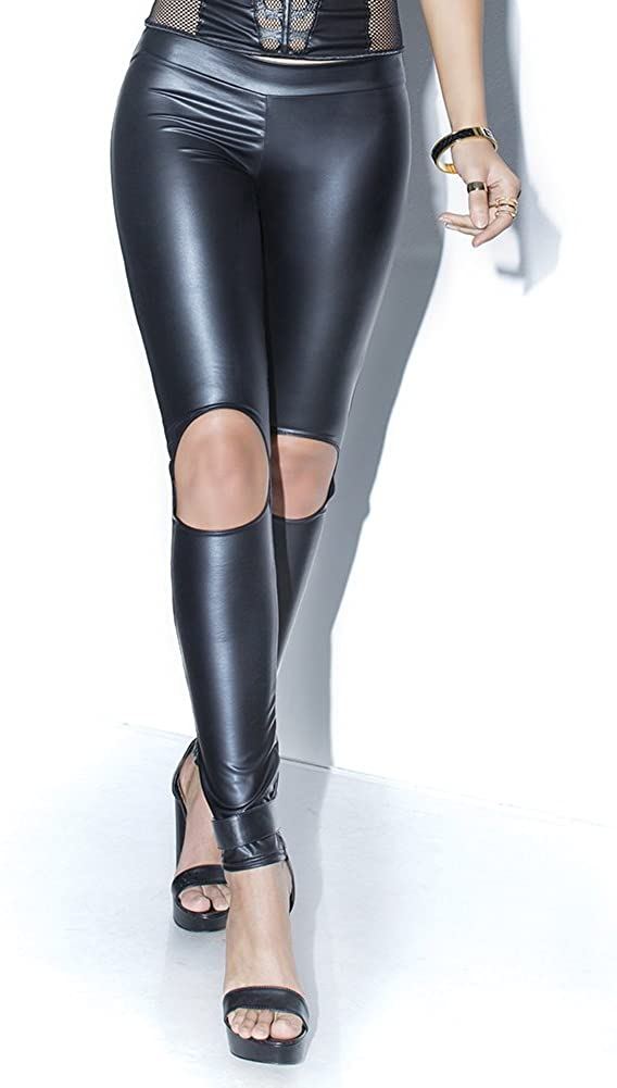 Coquette Women's Wet Look Pant